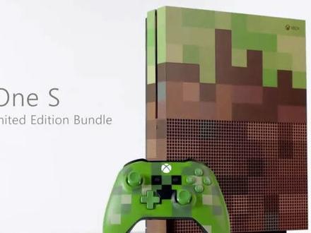 Minecraft-version av Xbox One S
