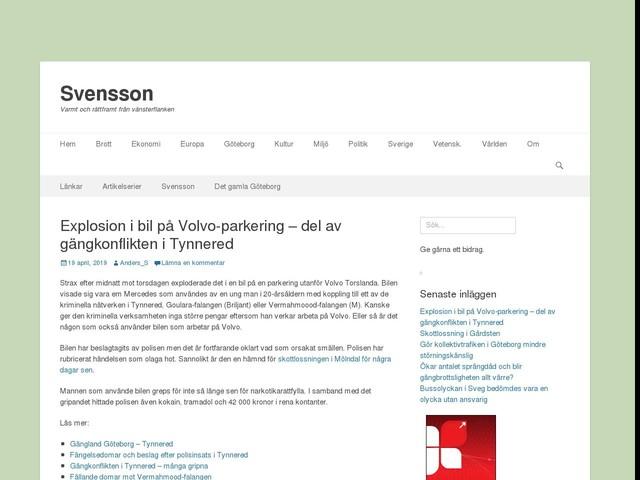 Explosion i bil på Volvo-parkering – del av gängkonflikten i Tynnered