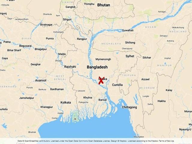 Mindre fabrik i brand i Dhaka – flera döda