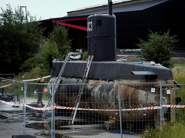 Polisen har hittat en arm i Kögebukten