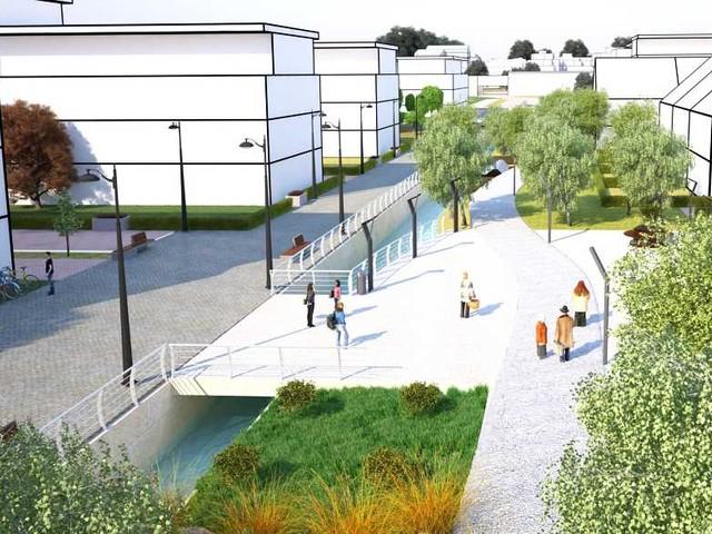 Lund får en kanal med bostäder och skola intill