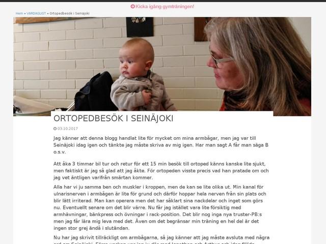Ortopedbesök i Seinäjoki