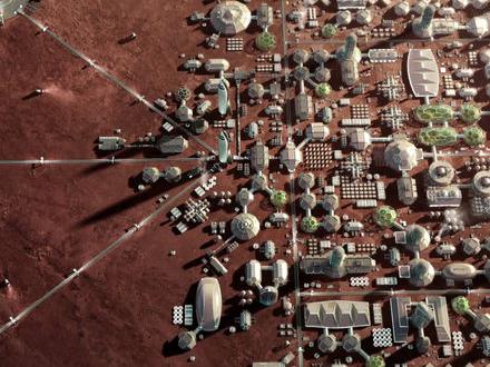 SpaceX planerar att landa två rymdfarkoster på Mars 2022