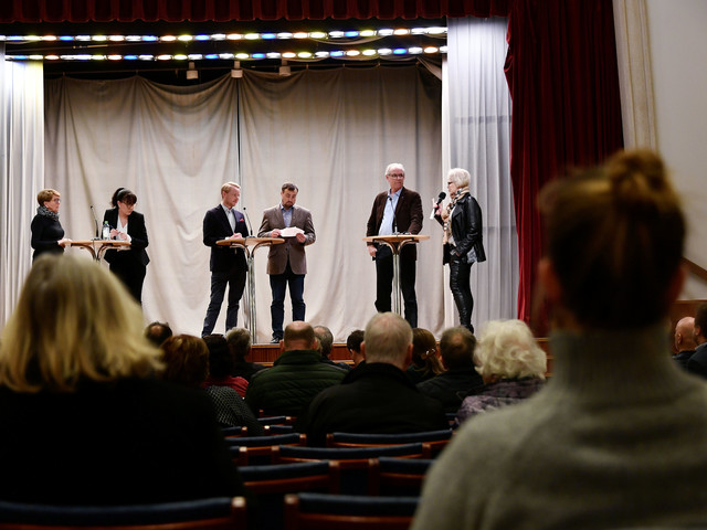 Tryggare Limhamn het önskan vid politisk utfrågning