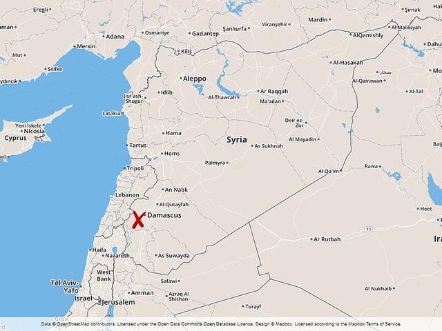 Israeliskt flygangrepp i Syrien