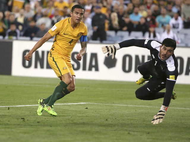 Kylig behandling för Cahill inför VM-kval