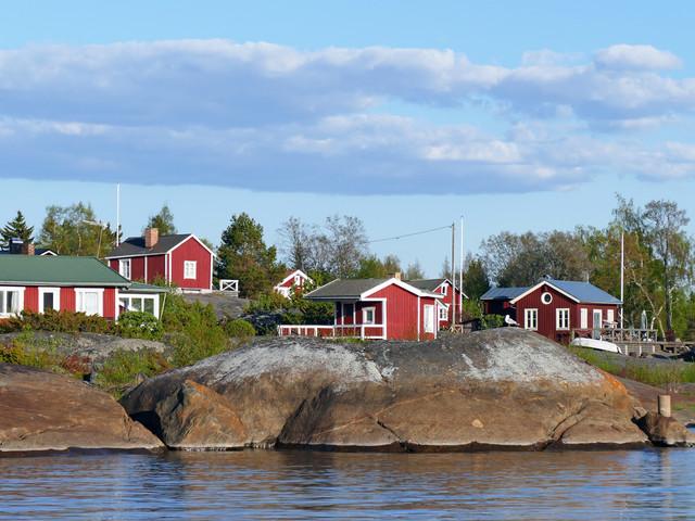 Somrig segling till Mässkär