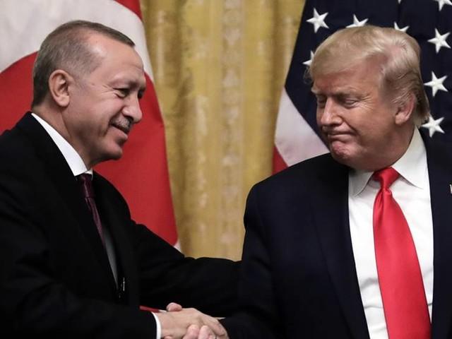 Erdogan och Trump till attack mot Macron