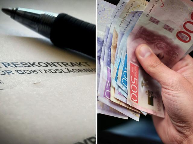 Nästan var tionde ung får sin hyresbostad via svarta pengar