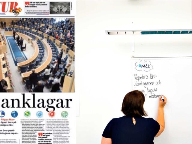 Hur många ursinniga lärare krävs för att politikerna ska vakna?