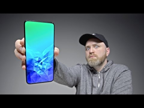 Unbox Therapy tittar på Oppo Find X
