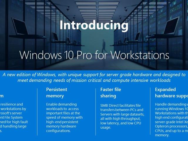 Windows 10 Pro for Workstations får Ultimate Performance-läge