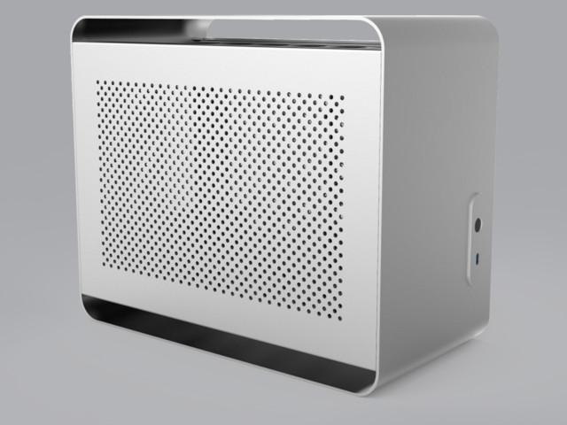 Streacom DA2 är flexibelt Mini-ITX-chassi med fokus på kylning