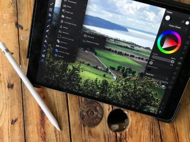 Jämförande test: Tre Ipad-appar som ersätter Photoshop