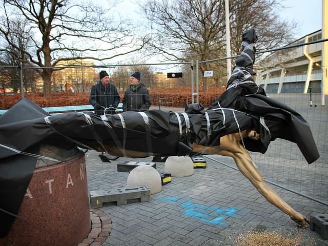 Zlatanstatyns 107 dagar kostade Malmös skattebetalare nästan en kvarts miljon