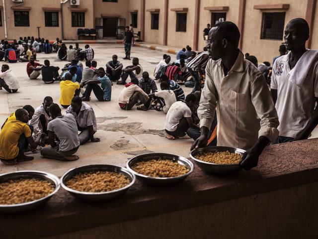 FN: Helvetesliknande i libyska flyktingförvar
