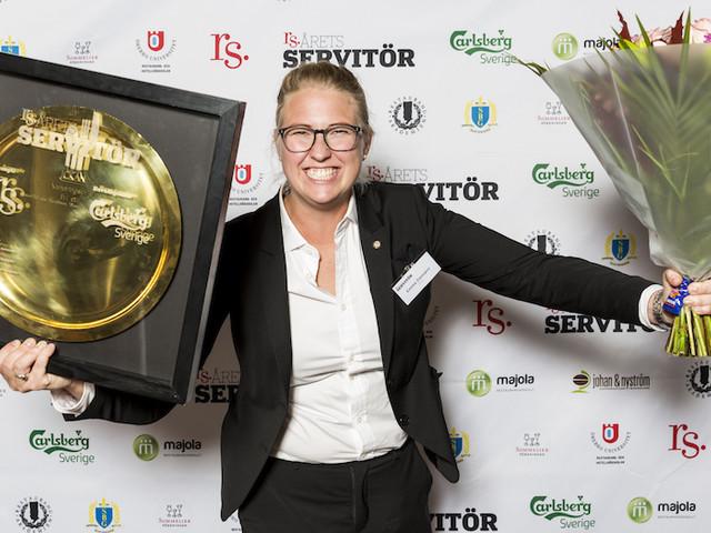 """Vinnaren i Årets Servitör: """"Jag log och tittade upp"""""""