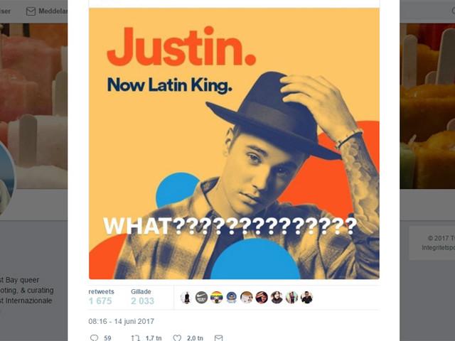 Spotify stoppar reklam med Justin Bieber efter hård kritik