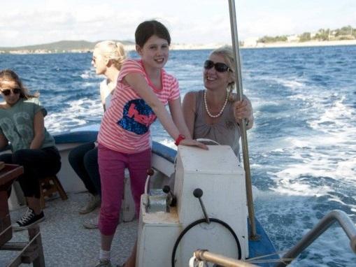 Fisketur med Franco i Golfo Aranci