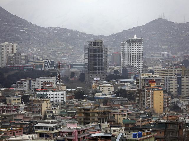 Kraftig explosion i Kabul