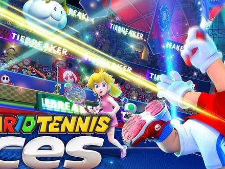 Mario Tennis Aces till Nintendo Switch släpps i juni