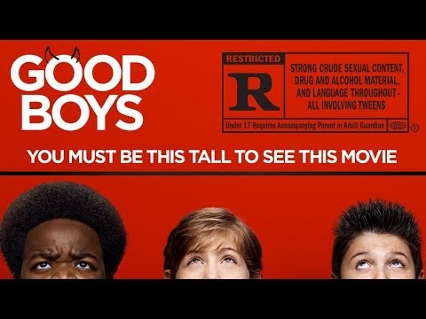 Ny red band-trailer för Good Boys