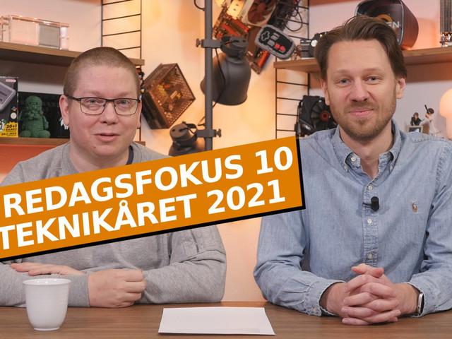 Fredagsfokus 10: Teknikåret 2021