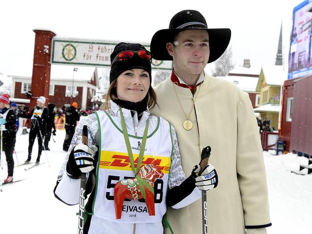 OS inspirerade prinsessan i Tjejvasan