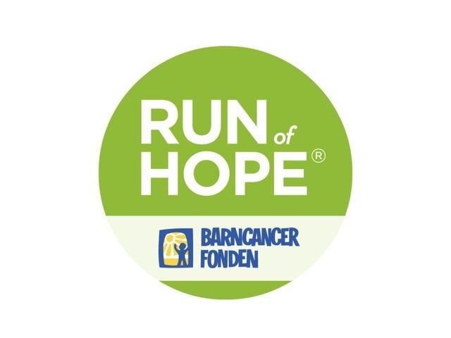 Run Of Hope för Barncancerfonden