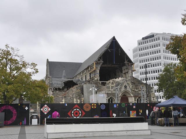 Christchurch vill ha frid efter ny katastrof