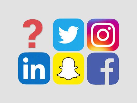 Vilka sociala medier använder du regelbundet idag?