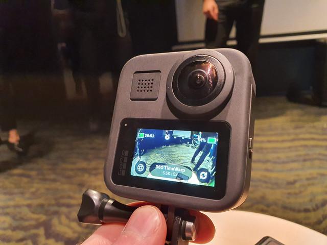 GoPro Max får nya time lapse-funktioner