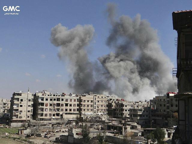 Över 500 civila offer i Ghouta – på en vecka