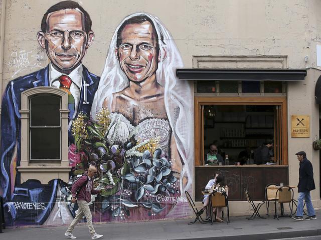 """Australiskt """"ja"""" till samkönade äktenskap"""
