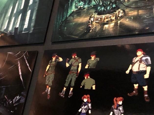 Konceptbilder från Final Fantasy VII: Remake visade