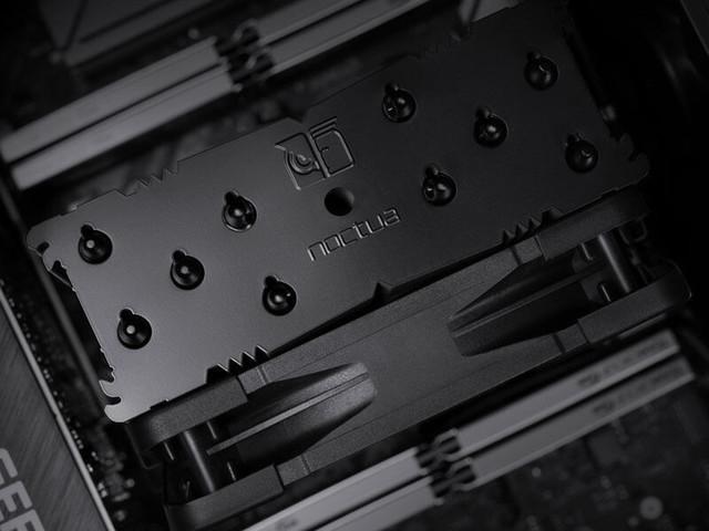 Noctua introducerar svart Chromax-version av kylaren NH-U12A