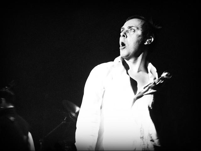 Bauhaus-sångaren är på bättringsvägen