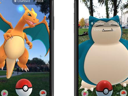 Pokémon Go till iOS får bättre AR-funktionalitet