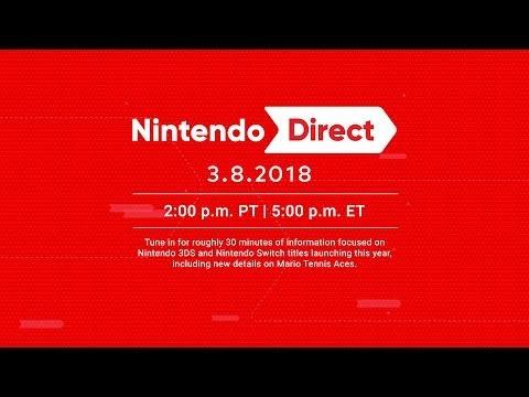 Nintendo kör ny Nintendo Direct i morgon