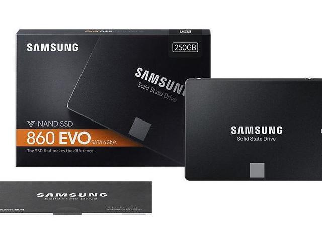 Samsung 860 Evo får specifikationer och hittar ut på bild