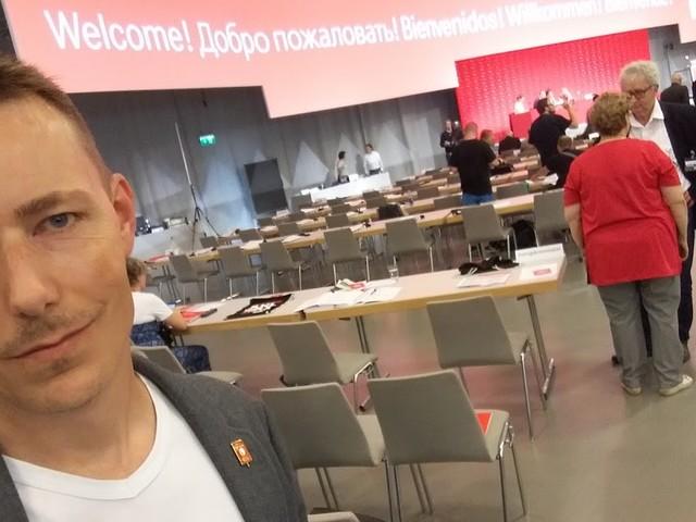 Rapport från Die Linkes kongress i Hannover