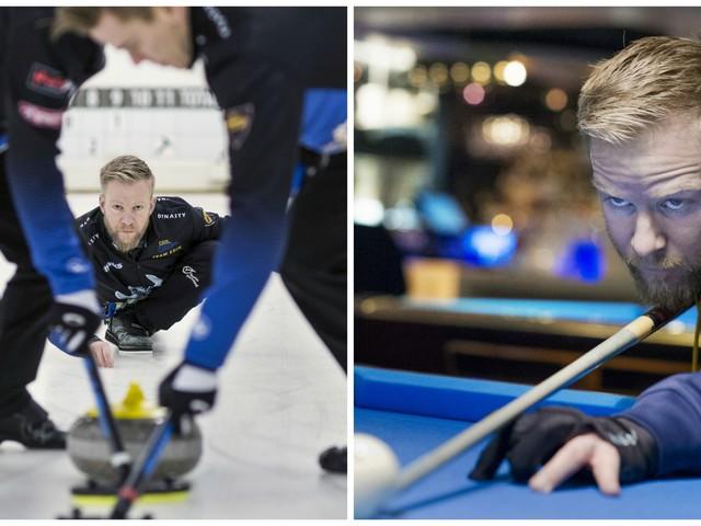 Curlinghoppet får rätt fokus – med biljard