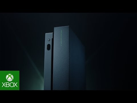 Microsoft visar upp Xbox One X: Scorpio Edition