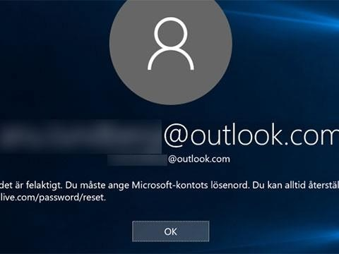 Så nollställer du ditt Windows 10-lösenord