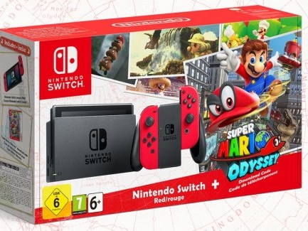 Switch-bundle med Super Mario Odyssey-motiv avtäckt