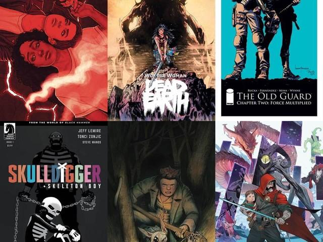 Comics of Future Past – december 2019
