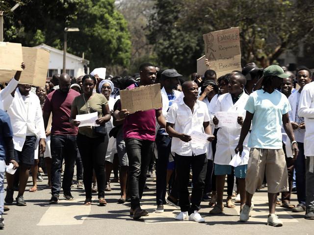 Kidnappad läkare i Zimbabwe väcker oro