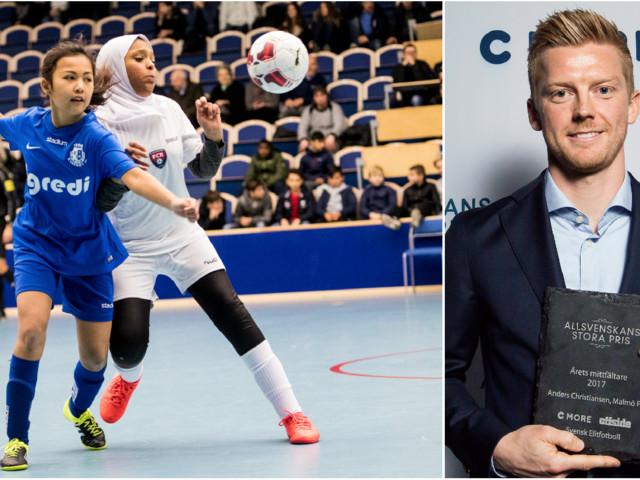 MFF-stjärnan skänker 10 000 till Skånecupen