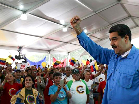 Kina, Ryssland, Tyskland och Mercosur- protest mot USA-intervention i Venezuela