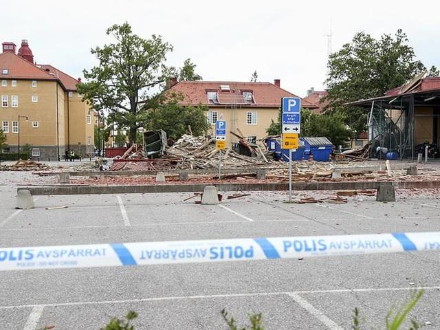 Utredning inom polisen inledd efter explosion